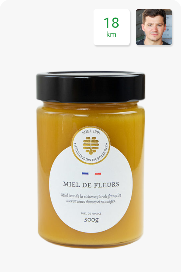 miel fleurs