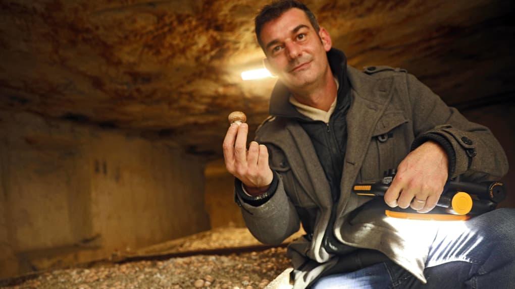 cave champignonnière des roches