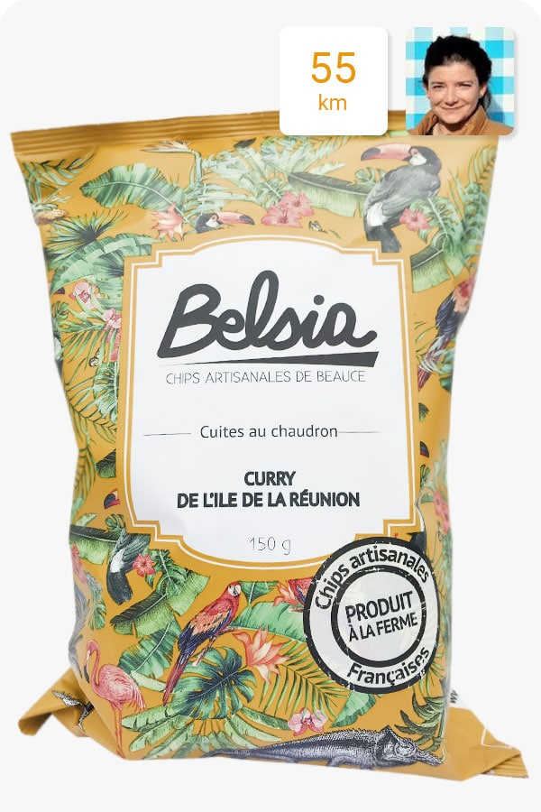 chips belsia curry