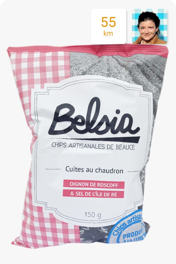 chips belsia oignon