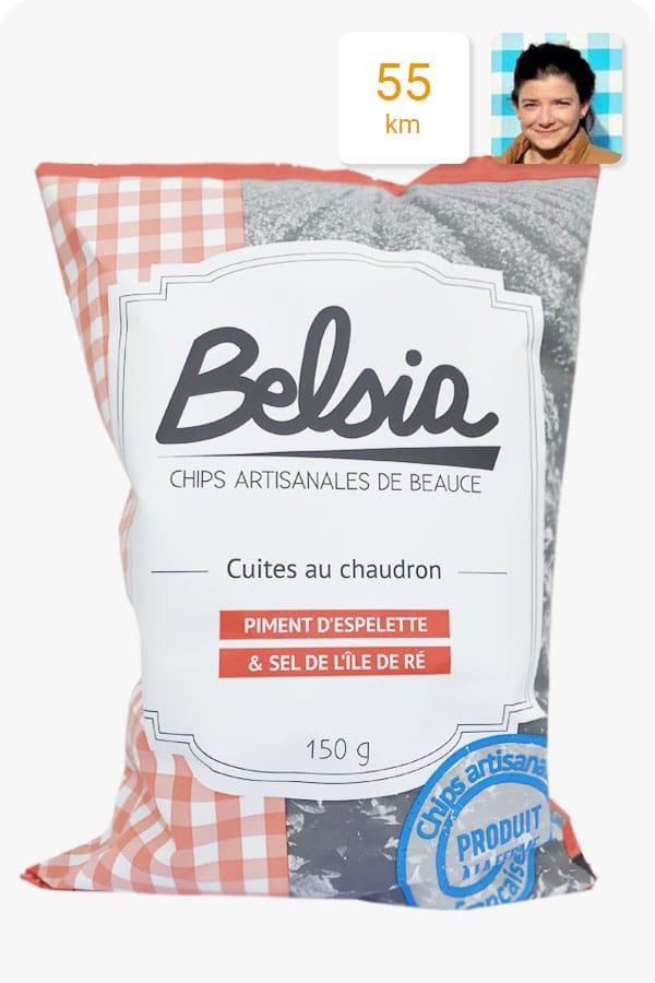 chips belsia piment espelette