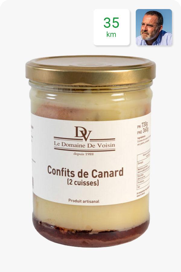 confits canard 2 cuisses