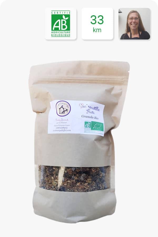 granola fruité bio